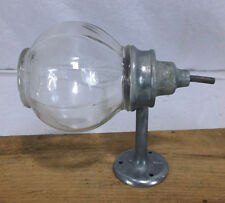 Antique Glass Ball Liquid Soap Dispenser west disinfecting Vintage #3