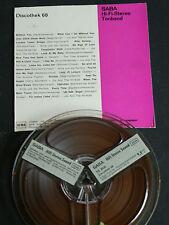 2-Spur-Technik  DISCOTHEK 69 TS 2036 SABA HiFi Stereo Sound 9,5cm/s Basf LGS 35