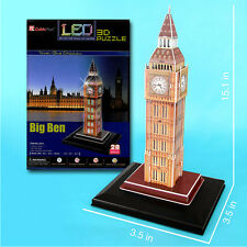 Big Ben Light-Up 3D Puzzle Souvenir from Online Gift Store