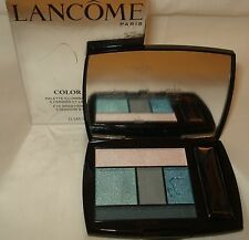 Lancome Color Design 5 Eye Shadow & Liner Palette -  400 Teal Fury  NIB