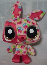 "The Littlest Pet Shop Online HAPPIEST PINK BUNNY 7"" Plush STUFFED ANIMAL Toy"