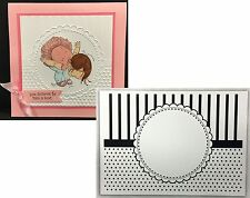 CGULL embossing folders - CIRCLE FRAME embossing Folder 12-0006 All Occasion