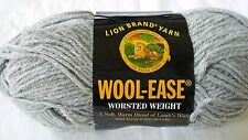 Lion Brand Wool-Ease Yarn, Color: Grey Heather