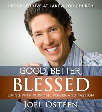 NEW! Good, Better, Blessed by Joel Osteen [Audiobook]