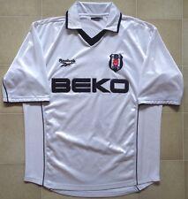 Authentic Reebok Besiktas (Turkey) 00/01 Home Jersey. Mens XL, Very Good Cond.
