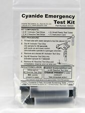 Cyanide Test Kit for Water, Presence-Absence, 0 - 1,700 ppm, 2 Tests