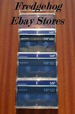 3 x SONY P6-120MP (P5-90MP) 8mm / VIDEO 8 & Hi8 CAMCORDER TAPES / CASSETTES