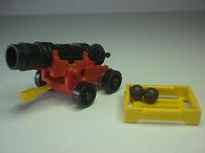 Cañon Barco Pirata Playmobil 3550 Antiguo Galeon Artilleria Colonial
