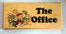The Office - Plaque / Sign / Gift - Green Phone Desk Dad Boss Work Door 382