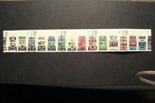 GB 2001  Commemorative Stamps~Double Decker Bus~Very Fine Used Set~UK Seller