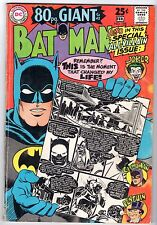 Batman #198, Very Good - Fine Condition!