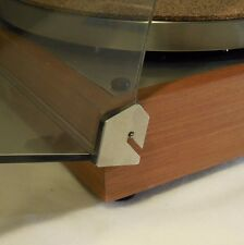 Thorens TD-160, 145, 165 Dust Cover Hinge Repair Kit Reinforcers for Turntable
