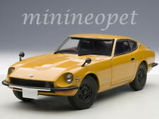 AUTOart 77436 1969 69 NISSAN FAIRLADY Z432 PS30 1/18 DIECAST MODEL CAR ORANGE