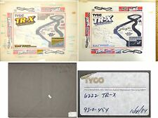 LaRgE 1984 TYCO HO PHOTO Line ART TRX Slot Car Race Set Cover Only 1 Known! 6222