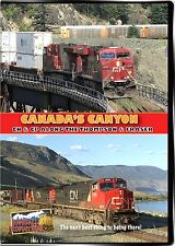 CANADA'S CANYON CN&CP ALONG THE THOMPSON & FRASIER RIVERS BLU RAY VIDEO HIGHBALL