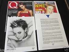 MELANIE C 'NORTHERN STAR' 1999 PRESS KIT--PHOTO