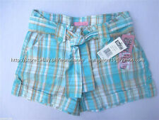 73% OFF! AUTH STAR RIDE GIRL'S BELTED ROLL-UP PLAID SHORTS SIZE 7 BNWT US$ 22