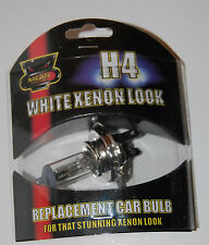 H4 White HID Xenon Replacement Bulb Headlight 55w Lamps car Light lamp UK