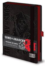 Sons Of Anarchy Premium A5 obligado Sin Forro Notebook 100% Oficial Calidad Merchandising