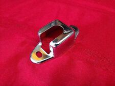 1955 55 56 57 CHEVY CHEVROLET NOMAD OR WAGON REAR SEAT LATCH COVER, CHROME, NICE