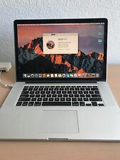 Used Apple MacBook Pro with Retina 15 inch 2015 2.5 GHZ 16GB 500GB SSD Core i7