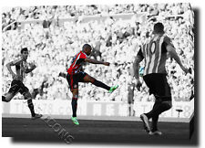 JERMAIN DEFOE PRINT POSTER PHOTO CANVAS SUNDERLAND WALL ART 2016 NEWCASTL