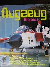 MAGAZINE ALLEMAND AVIATION FLUGZEUG ILLUSTRIERT  JUIN 1976 COMET / JAGUAR