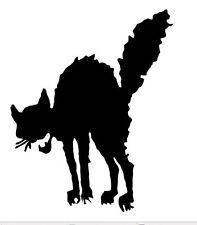 SCAREDY CAT A4 AEROGRAFO, Muro Arte, Pittura Stencil, autentica MYLAR Riutilizzabile