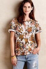NWT Anthropologie Rosewood Pullover MEDIUM By Saturday Sunday