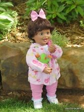 New In Box My Twinn Doll Toddler * Kyley Blue Green Eyes Brown Hair FREE OUTFIT