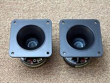 Two APT Super Tweeter Horns Made by Eminence / 8 ohm / New U-APT80-2 Tweeters