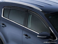 "Kia Sportage QL MY16 Onwards Slimline Door Visors ""Smoked "" D9A22APK10"