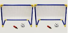 Childrens MINI CALCIO GOAL POST Twin Set Bambini pratica CALCIO GOAL