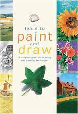 Learn to Paint and Draw by Parragon Book Service Ltd (Spiral bound, 2009)