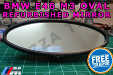 Genuine BMW E46 M3 Oval Rear View Complete Mirror Auto-Dimming Glass REFURBISHED