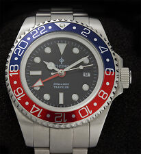 Ticino Traveler submariner seadweller Diver Watch  44mm - Hangzou 6460 Movement