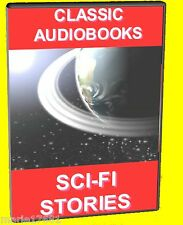17 CLASSIC SCIENCE FICTION NOVELS MP3 FULL LENGTH AUDIO BOOKS PC DVD ROM NEW