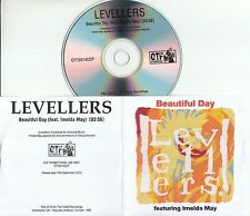 THE LEVELLERS FEAT IMELDA MAY Beautiful Day 2014 UK 1-track promo test CD