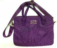 Marc By Marc Jacobs Standard Supply Nylon Messenger Laptop Bag Case Grape Purple