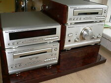 COMPLETE TECHNICS SC-HD51 MIDI HIFI SYSTEM WITH STAND AND REMOTE