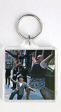 THE DOORS - STRANGE DAYS LP COVER KEYRING LLAVERO