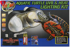Aquatic Turtle Kit UVB Heat and Lighting Aquarium Habitat Hatchlights Reptile