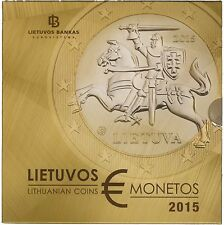 Lituania KMS 1 cent - 2 EURO IN BLISTER BU