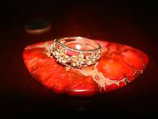 Beautiful Vintage Sterling Silver Ring.925 (Sz-7.5)