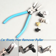 Multifunction Blue 6.9 Inches Car Rivets Diagonal Plier Fastener  Remover Puller