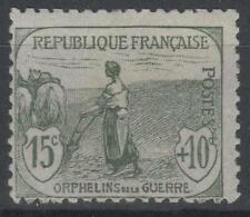 "FRANCE STAMP TIMBRE N° 150 "" ORPHELINS FEMME LABOUR 15c + 10c "" NEUF xx TB P143"