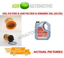 PETROL OIL AIR FILTER KIT + FS 5W40 OIL FOR PEUGEOT 106 1.1 60 BHP 1996-04