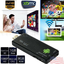 Android 4.4 TV Box Mini PC TV Dongle Stick MK809IV Quad Core 1080P 3D Media Play