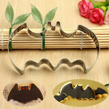 New Halloween Batman Stainless Steel Biscuit Cookie Cutter Pastry Fondant Mold