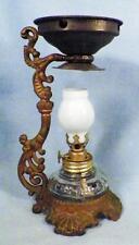 Antique Vapo Cresolene Oil Lamp Cure All Medical Device Miniature Complete #2